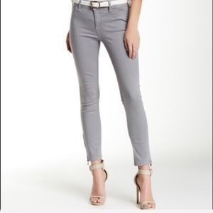 DL1961 | 'Florence' Cropped Zip Ankle Gray